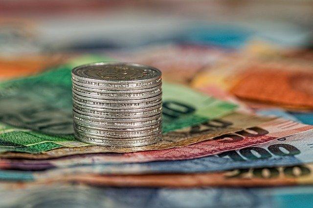 Bargeld und Münzen