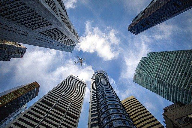 Wolkenkratzer Banken