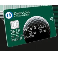 Diner Club Golf Karte