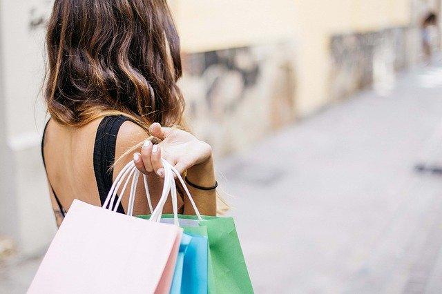 Einkaufen Frau