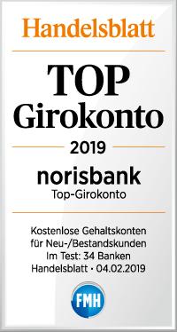 Top Girokonto norisbank